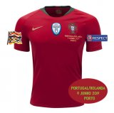 2019 UEFA Nations League Final Portugal Home Jersey Full Patch Detail(Fans Version)