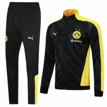 19-20 BVB Borussia Dortmund Black Zebra Pattern Jacket Kit