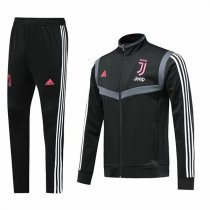 19-20 Juventus Black High Neck Jacket Kit