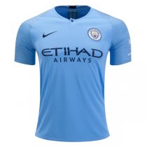 1819 Manchester City Home Soccer Jersey