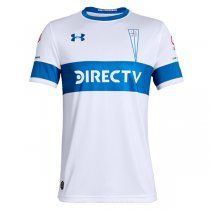 19-20 Universidad Católica Home White Soccer Jersey Shirt