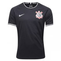19-20 Corinthians Away Black Soccer Jersey Shirt