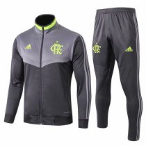 19-20 Flamengo Light Gray High Neck Jacket Kit