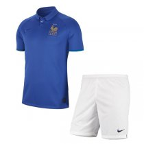 2019 France 100th Anniversary Edition Men Kit (Shirt+Short)