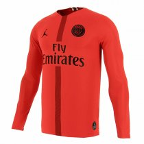 1819 PSG Champions League Home Long Sleeve Goalkeeper Jersey