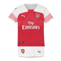 18-19 Arsenal Home Soccer Jersey Kid Kit