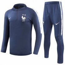 2018 France Two Star Navy Tracksuit