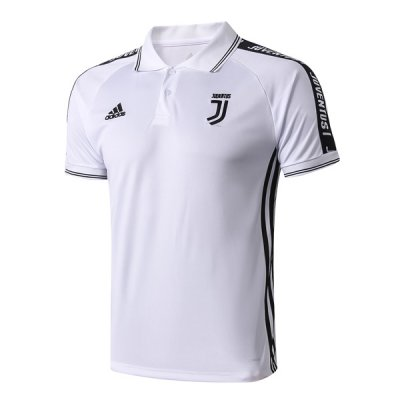 2019 Juventus White Polo Shirt