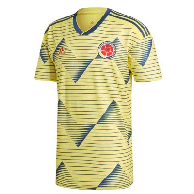 2019 Colombia Home Soccer Jersey Shirt