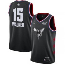 Charlotte Hornets Kemba Walker 2019 ALL STAR Swingman Jersey Black