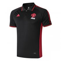 2019 Manchester United Black Polo Shirt