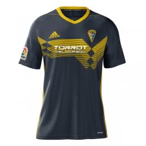 19-20 Cadiz Away Black Soccer Jersey Shirt