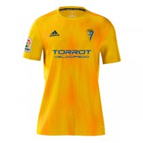 19-20 Cadiz Home Yellow Soccer Jersey Shirt