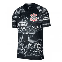 19-20 Corinthians Third Away Black Soccer Shirt