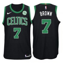 2017-2018 Boston Celtics Jaylen Brown Mindset Black Jersey