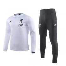 19-20 Liverpool White Training Suit
