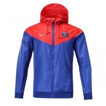 1819 PSG Authentic Blue&Red Vest Windrunner