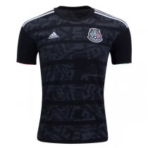 2019 Mexico Home Black Soccer Jersey Shirt