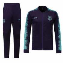 1819 Barcelona Navy Blue Sleeve Print Training Jacket Kit