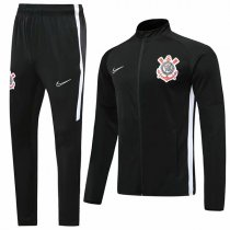 19-20 Corinthians All Black High Neck Jacket Kit