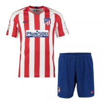 19-20 Atlético de Madrid Home Jersey Men Kit(Shirt+Short)