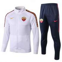 19-20 AS Roma White High Neck Jacket Kit