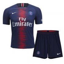 1819 PSG Authentic Home Vapor Match Jersey Kit (Player Version)