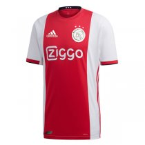 19-20 Ajax Home Authentic Soccer Jersey (Player Version)