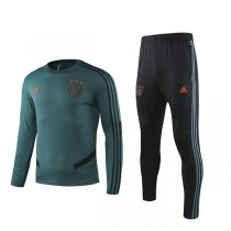 19-20 Ajax Dark Green Round Neck Training Suit