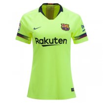 18/19 Barcelona Away Women Soccer Jersey Shirt