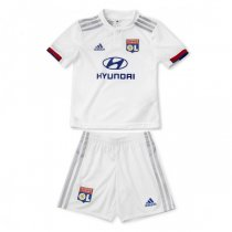 19-20 Olympique Lyon Home Jersey Kids Kit