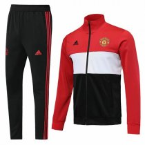 19-20 Manchester United 3 Color Vest Tracksuit