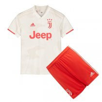19-20 Juventus Away Soccer Jersey Kids Kit