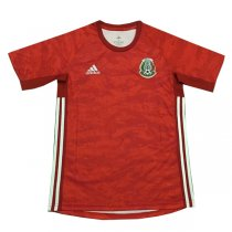 19-20 Mexico Red Goalkeeper Soccer Jersey Shirt