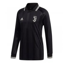 19-20 Juventus Icon Long Sleeve Jersey Black