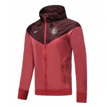 19-20 Internacional RS Jujube Red Hoodie Windbreaker