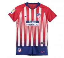 2018-19 Atletico Madrid Home Kids Kit