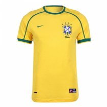 1998 World Cup Brazil Home Retro Jersey