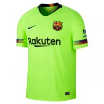 1819 Barcelona Away Yellow Soccer Jersey Shirt