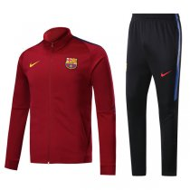 17-18 Barcelona Purplish Red Training Kit(Jacket+Trouser)