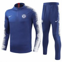 1819 Chelsea Blue Sleeve And Pant Print Tracksuit