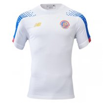 19-20 Costa Rica Away Soccer Jersey White