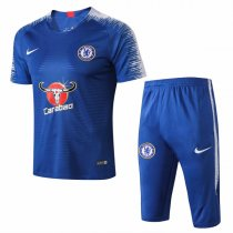 18-19 Chelsea Blue Short Training Tracksuit