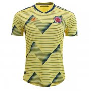 2019 Colombia Home Authentic Soccer Jersey Shirt (Player Version)