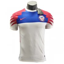 2020 Chile Away White Authentic Soccer Jersey Shirt (Player Version)