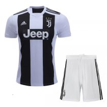 1819 Juventus Home Soccer Jersey Football Kit