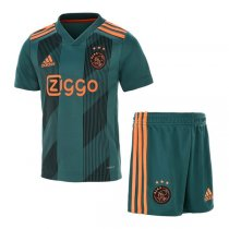 19-20 Ajax Away Soccer Jersey Kids Kit