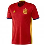 1617 Spain Home Soccer Jersey Shirt