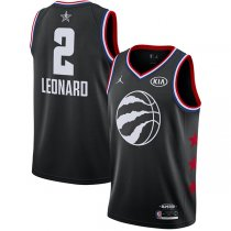 Toronto Raptors Kawhi Leonard Black 2019 NBA All-Star Jersey