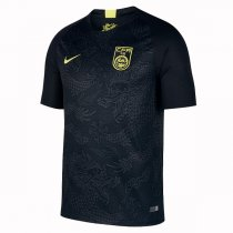 2018 China Away Black Soccer Jersey